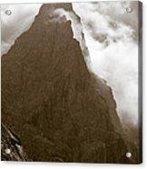 Mountainscape Acrylic Print by Frank Tschakert