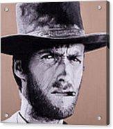 Mr. Eastwood Acrylic Print by Ellen Patton