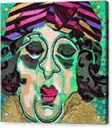 Mrs.eisenberg Acrylic Print by Diane Fine