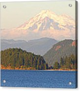 Mt Baker Acrylic Print by Brian Harig