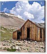 Mt. Sherman Acrylic Print by Aaron Spong