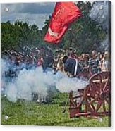 Mt Vernon Cannon Fire 4th Of July Acrylic Print by Jack Nevitt
