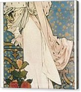 Mucha, Alphonse Maria 1860-1939 Acrylic Print by Everett