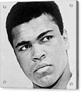 Muhammad Ali 1967 Acrylic Print by Mountain Dreams