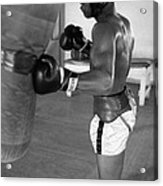 Ali Punching Bag Acrylic Print by Retro Images Archive