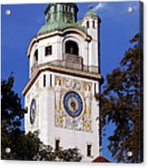 Mullersches Volksbad Munich Germany - A 19th Century Spa Acrylic Print by Christine Till