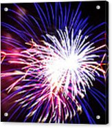 4th Of July Fireworks 15  Acrylic Print by Howard Tenke
