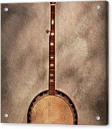 Music - String - Banjo  Acrylic Print by Mike Savad