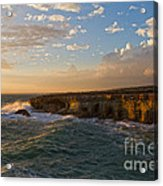 My Land Is The Sea Acrylic Print by Stelios Kleanthous