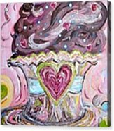 My Lil Cupcake - Chocolate Delight Acrylic Print by Eloise Schneider
