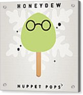 My Muppet Ice Pop - Dr Bunsen Honeydew Acrylic Print by Chungkong Art