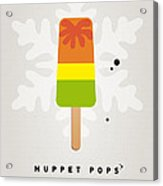 My Muppet Ice Pop - Scooter Acrylic Print by Chungkong Art