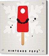 My Nintendo Ice Pop - Mario Acrylic Print by Chungkong Art