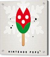 My Nintendo Ice Pop - Piranha Plant Acrylic Print by Chungkong Art