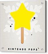 My Nintendo Ice Pop - Super Star Acrylic Print by Chungkong Art