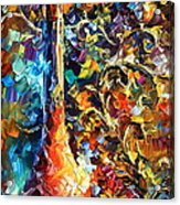 My Old Thoughts 2 Acrylic Print by Leonid Afremov