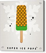 My Superhero Ice Pop - Aquaman Acrylic Print by Chungkong Art