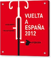 My Vuelta A Espana Minimal Poster Acrylic Print by Chungkong Art