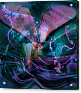 Mysteries Of The Universe Acrylic Print by Linda Sannuti