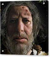 Nafets Neandertal Acrylic Print by Nafets Nuarb