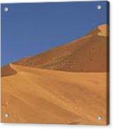 Namibian Desert Acrylic Print by Richard Garvey-Williams