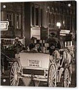 Nashville Carriage Ride Acrylic Print by John McGraw