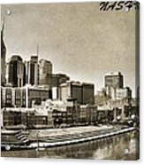 Nashville Tennessee Acrylic Print by Dan Sproul