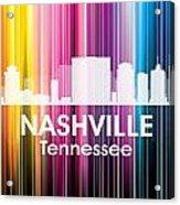 Nashville Tn 2 Acrylic Print by Angelina Vick
