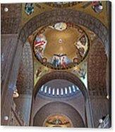 National Shrine Interior Acrylic Print by Barbara McDevitt