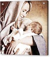 Nativity Acrylic Print by Cindy Singleton