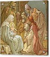 Nativity Acrylic Print by John Lawson