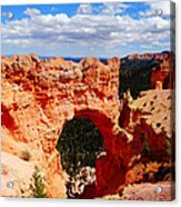 Natural Bridge In Bryce Canyon National Park Acrylic Print by Dan Sproul