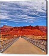 Navajo Bridge Acrylic Print by Dan Sproul
