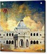 Nawab's Palace Acrylic Print by Catf