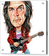 Neil Young Acrylic Print by Art