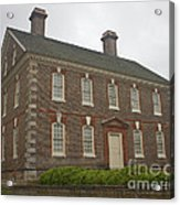 Nelson House Yorktown Acrylic Print by Teresa Mucha
