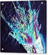 Neon Lights Acrylic Print by Louise Blaize