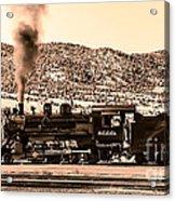 Nevada Northern Railway Acrylic Print by Robert Bales