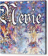 Nevie - Wise Acrylic Print by Christopher Gaston