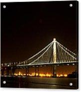 New Bay Bridge Acrylic Print by Bill Gallagher