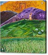 New Jerusalem Acrylic Print by Cassie Sears