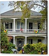 New Orleans Frat House Acrylic Print by Steve Harrington