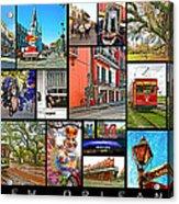New Orleans Acrylic Print by Steve Harrington