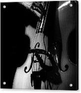 New Orleans Strings Acrylic Print by Brenda Bryant