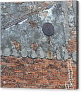 New Orleans Wall Acrylic Print by Bill Mock