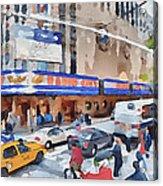 New York 4 Acrylic Print by Yury Malkov