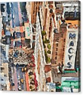 New York 5 Acrylic Print by Yury Malkov