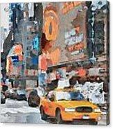 New York 6 Acrylic Print by Yury Malkov