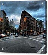 New York City - Greenwich Village 012 Acrylic Print by Lance Vaughn