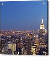 New York City Acrylic Print by Juergen Roth